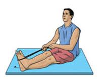 تمرینات مناسب پیچ خوردگی مچ پا -۱