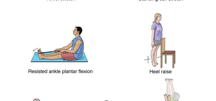 تمرینات مناسب کشیدگی ساق پا